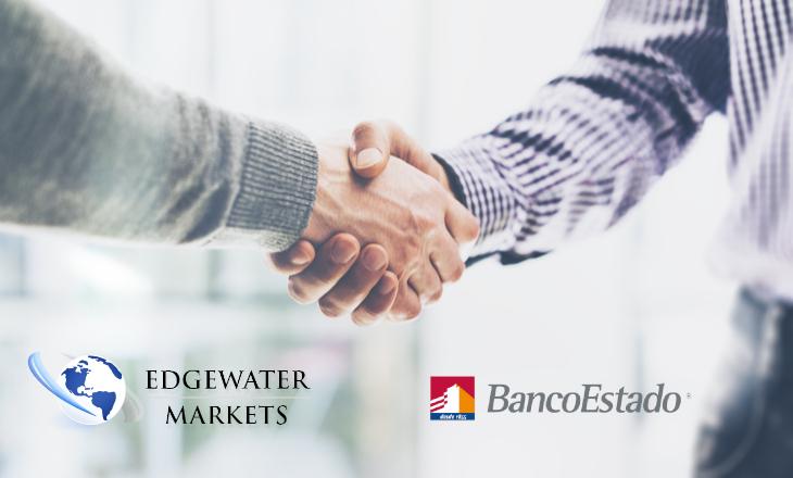 Banco del Estado de Chile goes live on Edgewater Markets' new trading platform