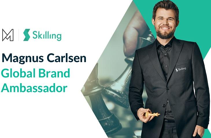 Chess Legend Magnus Carlsen becomes a brand ambassador for Skilling
