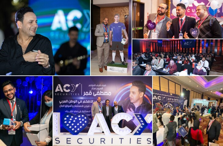 ACY Securities seals position in Middle East with Arabic singer Moustafa Amar as brand ambassador