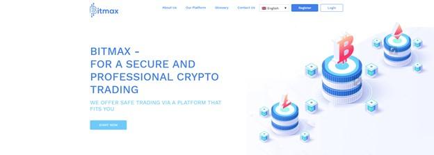 Bitmax crypto trading platform