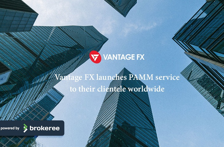 Vantage FX partners with Brokeree Solutions to introduce PAMM services