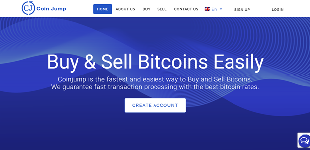 CoinJump exchange