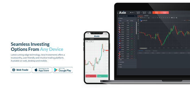 Axia Investments trading platforms
