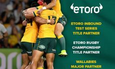 eToro becomes a major partner of Rugby Australia