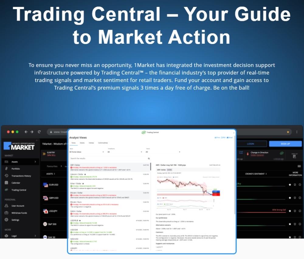 1Market Trading Central