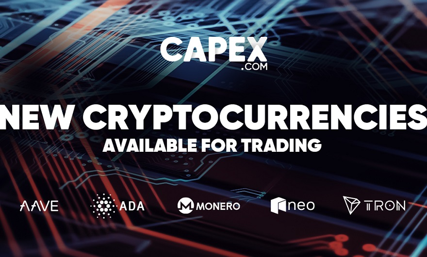 CAPEX.com adds 12 new cryptocurrencies to its offering