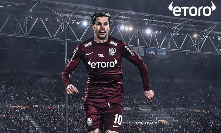 eToro signs partnership deal with CFR 1907 Cluj