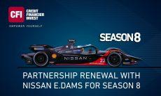 CFI extends partnership with Nissan e.dams for Formula E season eight