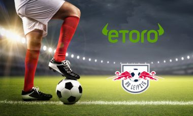 eToro partners with German Football Club RB Leipzig