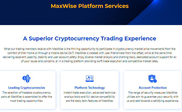maxwise platform