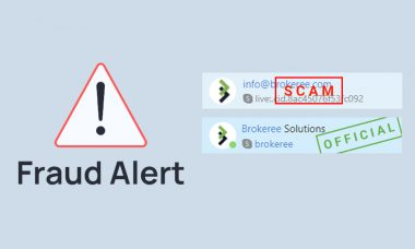 Brokeree Solutions issues a warning about imposters