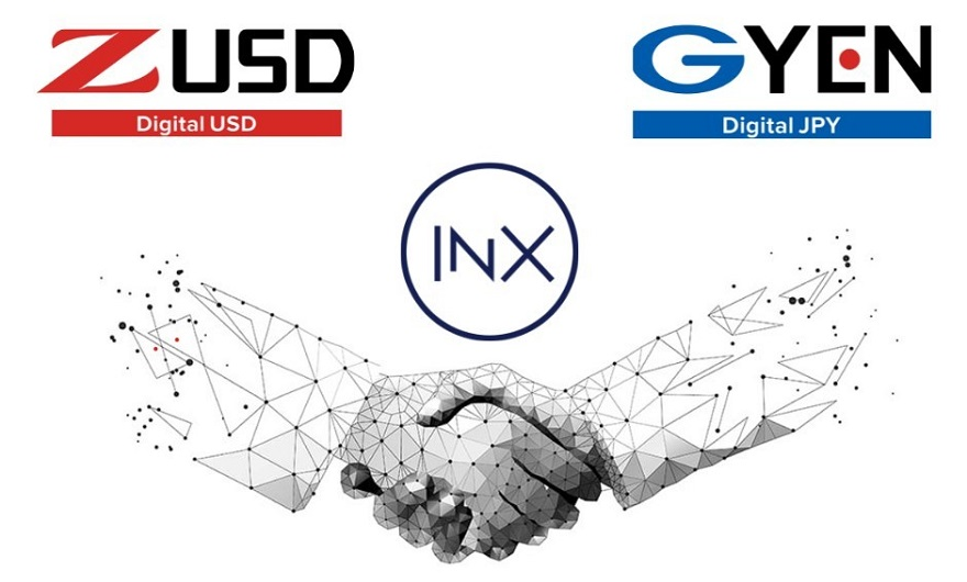INX partners with GMO to list regulated Japanese yen stablecoin