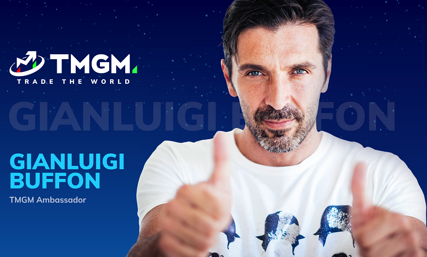 TMGM signs a multi-year partnership with Gianluigi Buffon